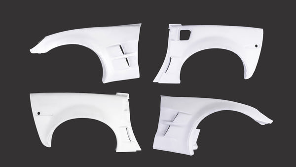 Chevrolet Corvette C6 Wide Body Fender Kit