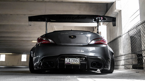 "Force 2XL (74"") GT Wing for Genesis Coupe"
