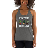 Women's What The F Bella + Canvas Tank Top