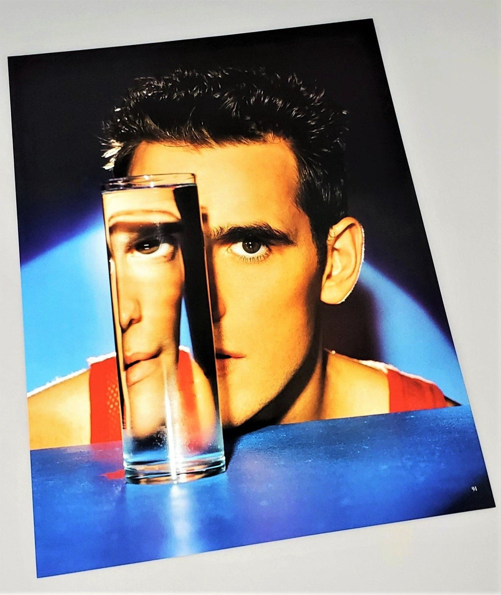David LaChapelle 1997 Color Photo Of Matt Dillon
