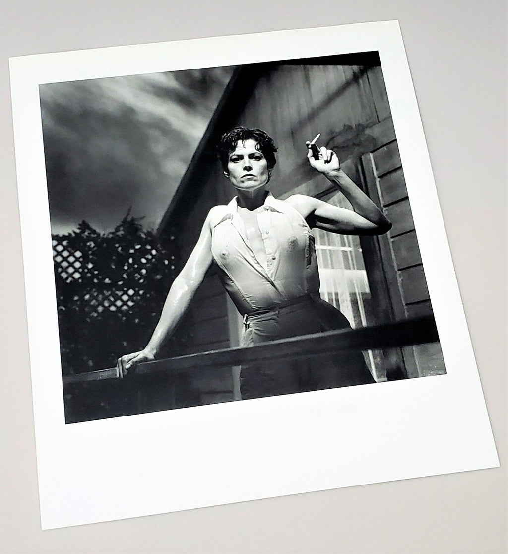 1995 Sigourney Weaver photograph featured in Helmut Newton: Work hardcover book  released in 2000