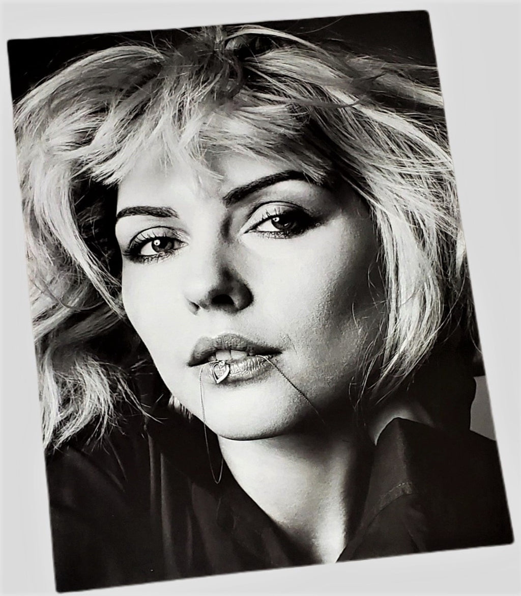 Debbie Harry photograph originally snapped in 1980 by Richard Avedon featured in Vogue x Music book