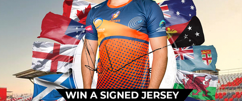 Win a Signed Rugby Jersey