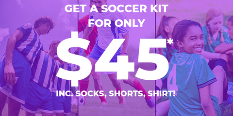 Unbeatable Soccer Kit Offer