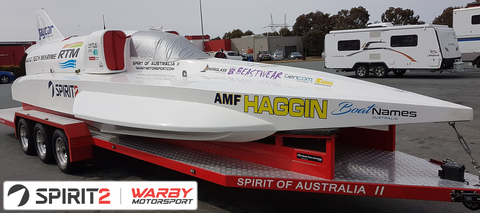 The Warby Speed Boat Returns!