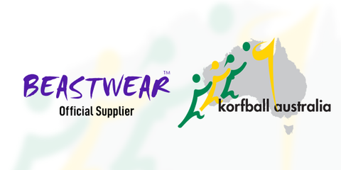Korfball Australia Signs multi year deal with Beastwear