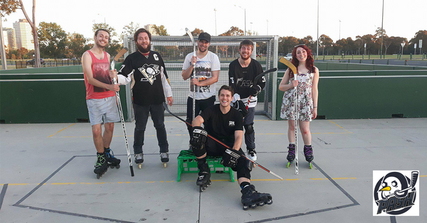 PASH SRHL Melbourne Hockey Team Street Roller Hockey Team