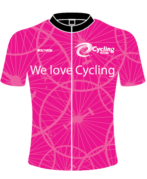 Pink Cycling Victoria Jersey