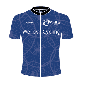 Blue Cycling Victoria Jersey