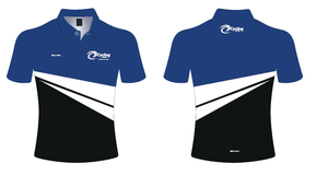 Blue/Black/White Cycling Victoria Polo