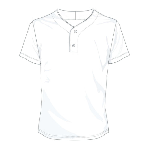 Custom Baseball 2 Button Tee