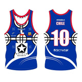 Singlet - Chile Rugby League