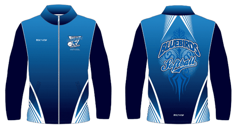 Zip Up Jacket - Bluebird Softball