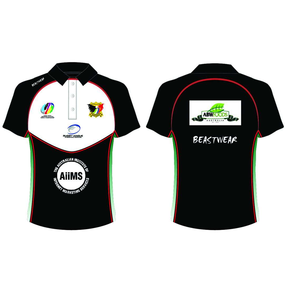 Polo Shirt Mediterranean Rugby League