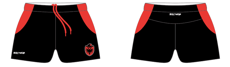 Playing Shorts - Albania Rugby League