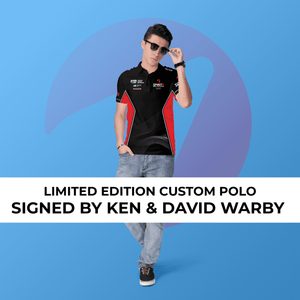 Limited Edition SIGNED Polo - Warby Motorsports World Record