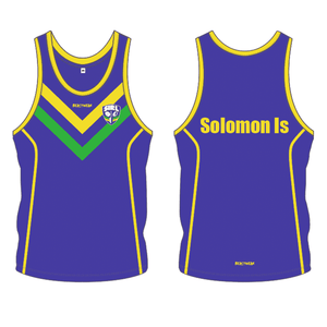Singlet - Solomon Islands Rugby League