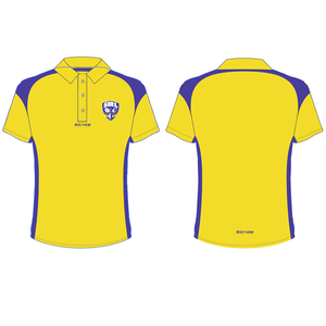 Yellow Polo Shirt Solomon Islands Rugby League