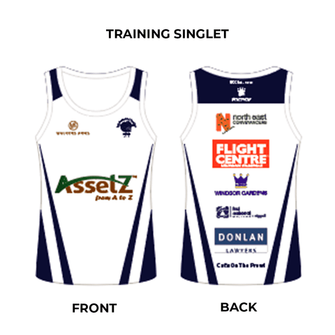 Training Singlet Walkerville Cricket
