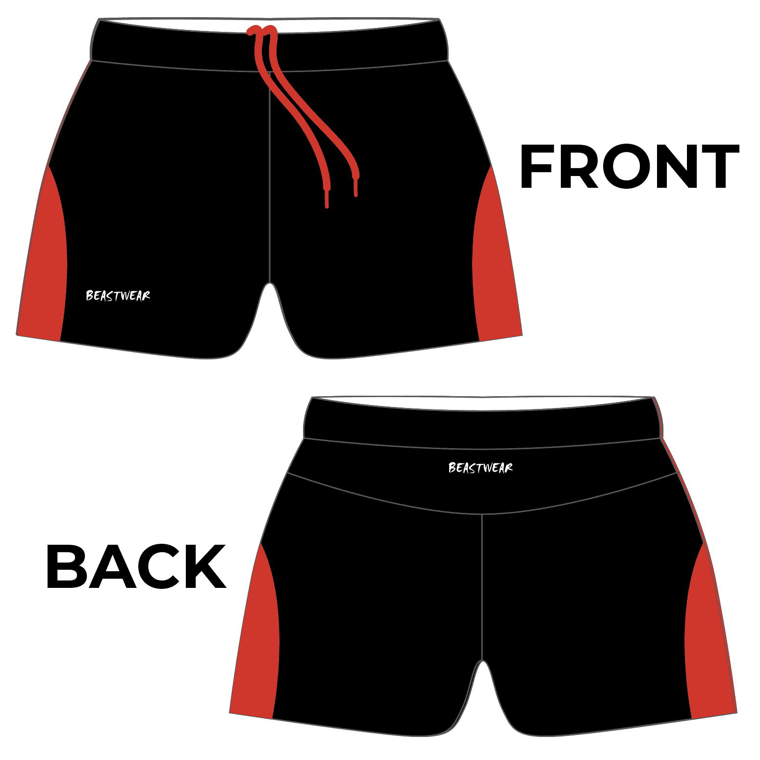 Limited Edition Shorts (Design 3) - Warby Motorsports World Record