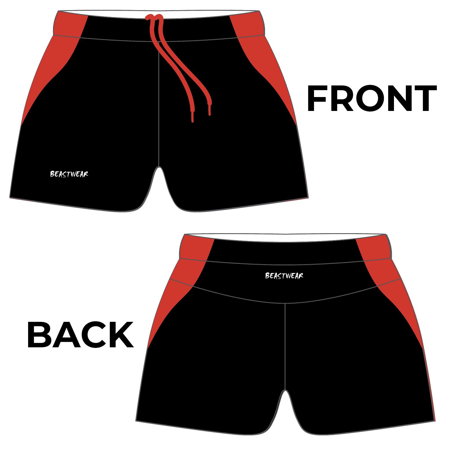 Limited Edition Shorts (Design 2) - Warby Motorsports World Record