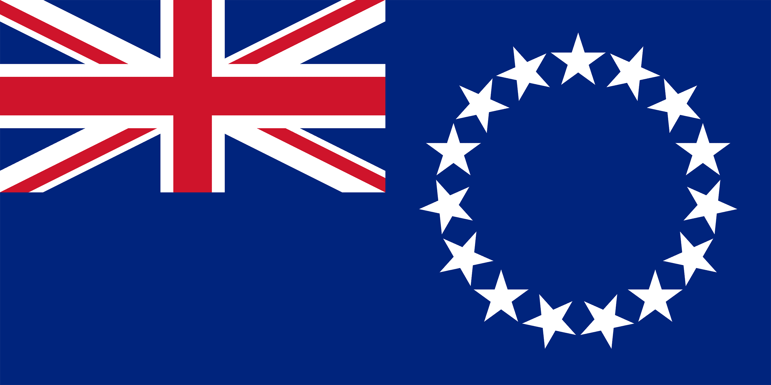 Cook Islands Hand Flag