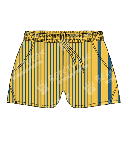 Custom Shorts - Rugby Style