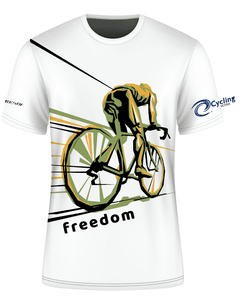 Cycling Victoria  T Shirt 12 - Free Shipping Australia Wide