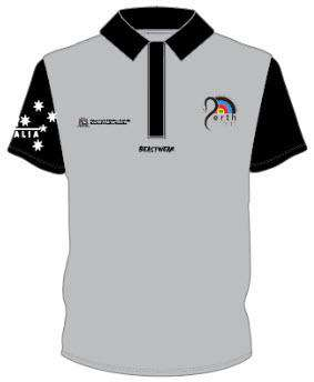 Polo - Grey WA Archery