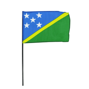 Hand Flag Flag - Solomon Islands Rugby League