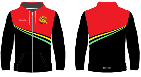 Zip Up Jacket - Stripe Design Northern United RLFC