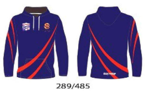 Hoody - Blue and Red Design PMFC