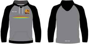 Hoodie - Grey Design Northern United RLFC