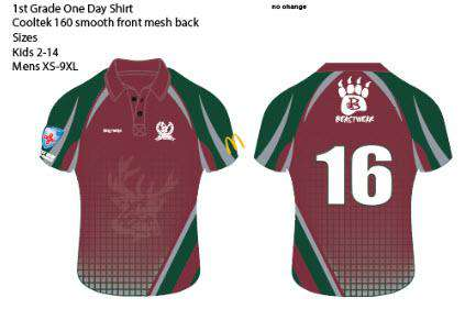 One Day Playing Shirts -  GDCC
