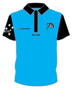 Polo - Blue WA Archery