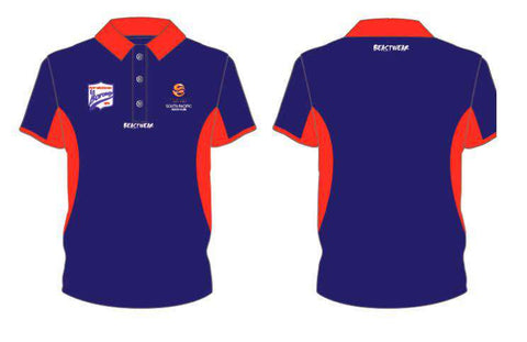 Club Polo - Navy Red - PMFC