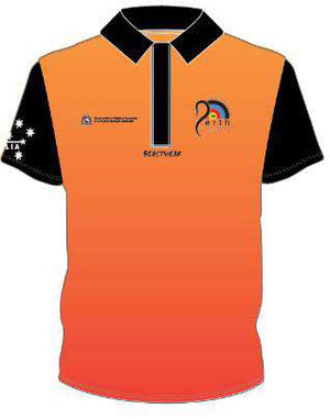 Polo - Orange WA Archery