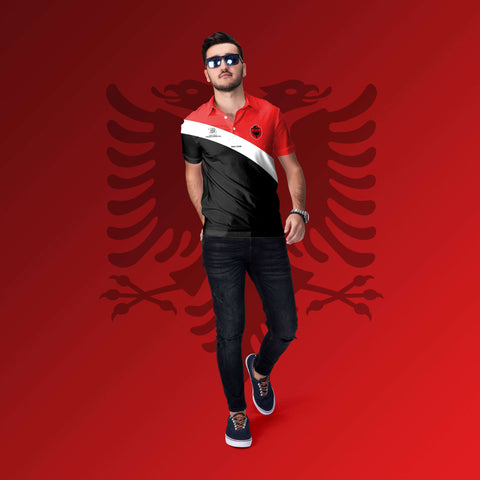 Polo Shirt - Albania Rugby League