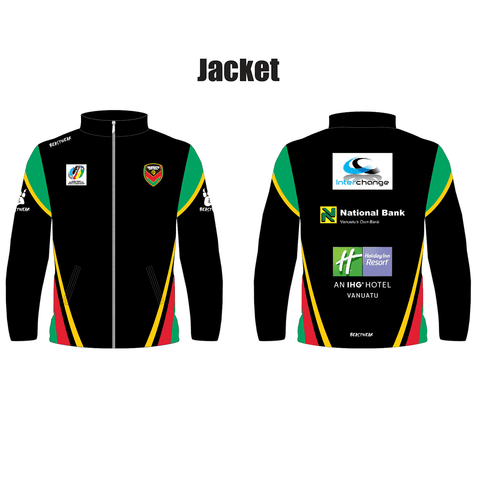 Club Jacket - Vanuatu Rugby League