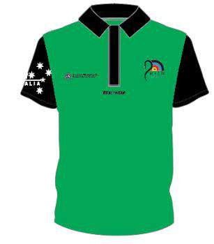 WA Archery Polo Green