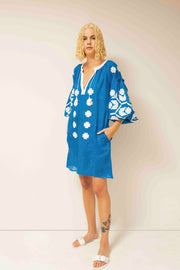 Zarina Tunic in Blue