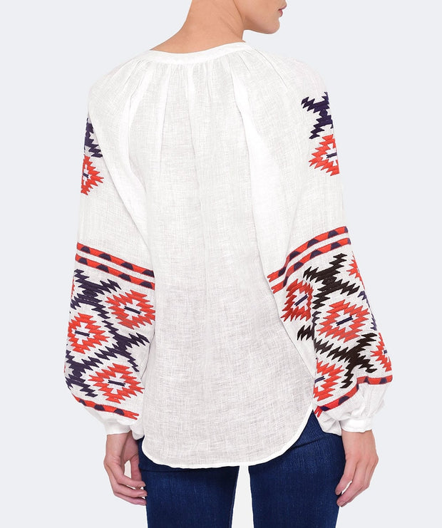 Istanbul Blouse in Creme