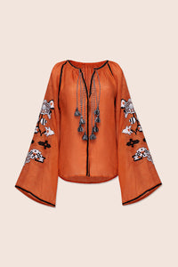 DIDI Blouse in Orange
