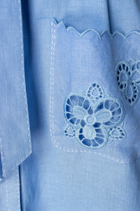Tina Blouse in Light Blue