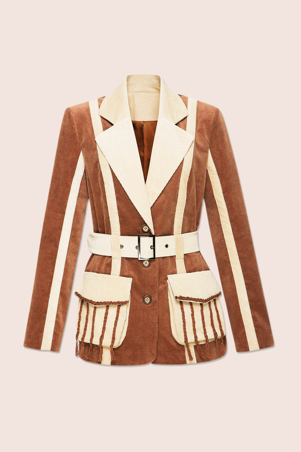 Phoenix Jacket in Brown