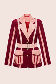 Phoenix Jacket in Burgundy