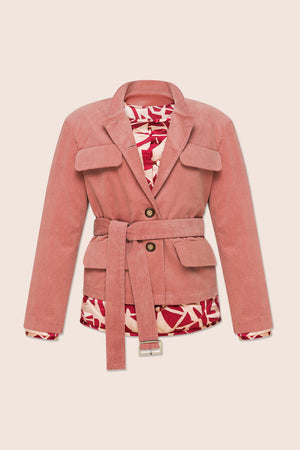 Taylor Short Jacket in Pink