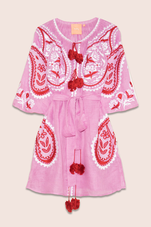 Ece Mini Dress in Pink