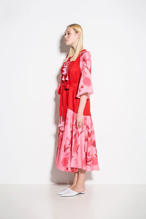 Alex+Gabrielle Midi Dress in Pink