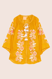Roberta Blouse in Yellow